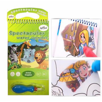 enfants magique eau coloriage peinture livre de dessin