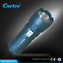 Hot selling matt paint surface night led rechargeable torch light