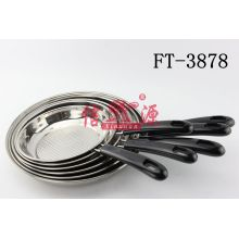Stainless Steel Skidproof Fry Pan (FT-3878)