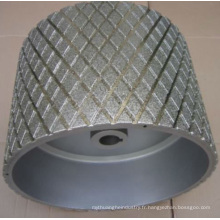 Largement utilisé de haute qualité meule abrasive diamant en pierre