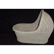 (BC-BA1003) Handmade Willow cesta de dormir do bebê