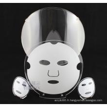 Affichage de modèle de masque acrylique