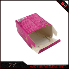 Tea PVC plastic packaging box
