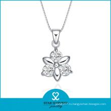 Мода цветок Shaped Дунгуань металла ожерелье