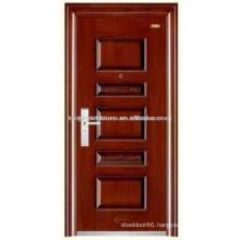 Good Surface Steel Security Door KKD-523Z For Department Entrance Design
