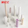 Isolador de haste de cerâmica de alumínio MICC 95/99 com 2/4 furos