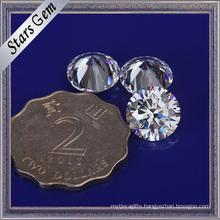 Big Size 10mm Round Cubic Zirconia Stone for Fashion Jewelry