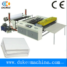 Alta velocidad de un carrete de alimentación A4 A3 papel de corte de la máquina (DKHHJX-1100/1300)