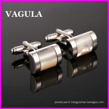 Liens de manchette VAGULA qualité laiton Shell (HL10127)