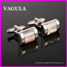 VAGULA Quality Brass Shell Cuff Links (HL10127)