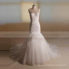 Attractive Slim Fit Delicacy Sequins Lace Wedding Dress Vividly Fair Fishtail