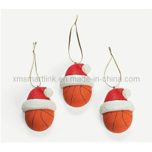 Poly Stone Xmas Hat Hanging Decoration Gifts, Décoration suspendue de Noël