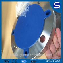 ANSI B16.5 pad de brida de acero inoxidable estándar