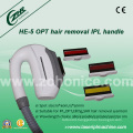 IPL & E - Light Hair Removal Laser Handle Piece Big Spot Size 15*50mm