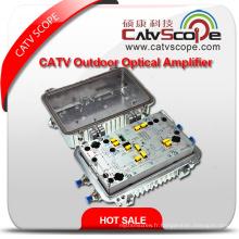 Amplificateur bi-directionnel de ligne de coffre à air extérieur haute performance CATV avec Ea & Att