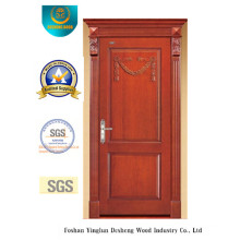 Simplestyle Wood Door with Simplified Carving (DS-6007)