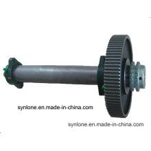 Вковка вала шестерни нержавеющей стали с подвергать механической обработке CNC