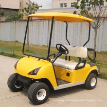 Coche de golf eléctrico 2 en 1 asiento del carro de golf con Ce Approved (DG-C2)