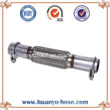 Flexible Pipe with Nipple Exhaust Muffler