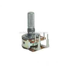 WH148-1AK-5 Potentiomètre rotatif double gang b500k haute puissance inversé