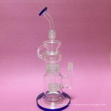 Pipe de fumage en verre