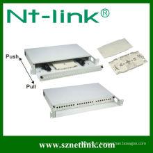 Panneau de raccordement à fibre optique ST 24