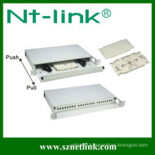 12 core fiber optic sc apc patch panel
