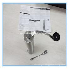 stainless steel mill coffee grinder Manual Ceramic Burr stainless steel Coffee Grinder manual stainless steel coffee grinder