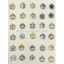 Monnaie commémorative en métal de mode / promotionnelle / nouvelle, pièce de monnaie souvenir avec chaîne