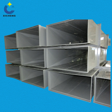 Pp plastic square shape ventilation pipe