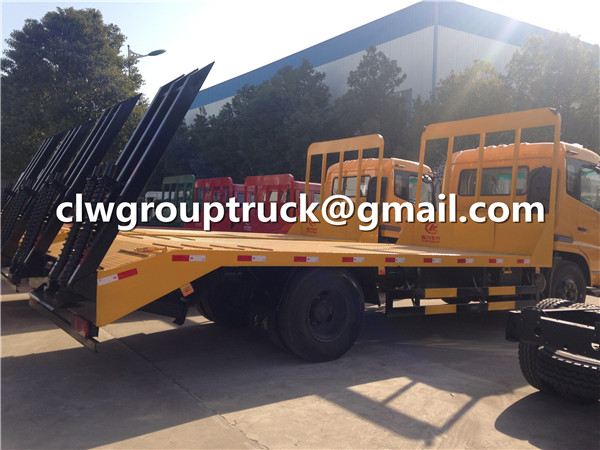 Flatbed Trailer Truck