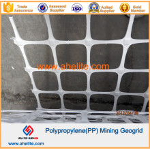 Polypropylene PP Mining Mine Geogrid with Flame-Retardant Polymer
