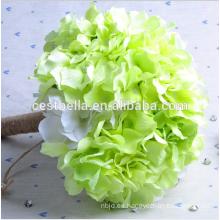 Al por mayor de la boda de decoración nupcial bouquet de dama de honor ramo bouquet de flores de plástico