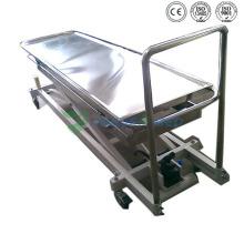 Medizinische Leichenbestattungs-Edelstahl-Leichenheber-Leiche Leichenhalle