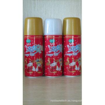 anti inflamable Navidad Snow Spray