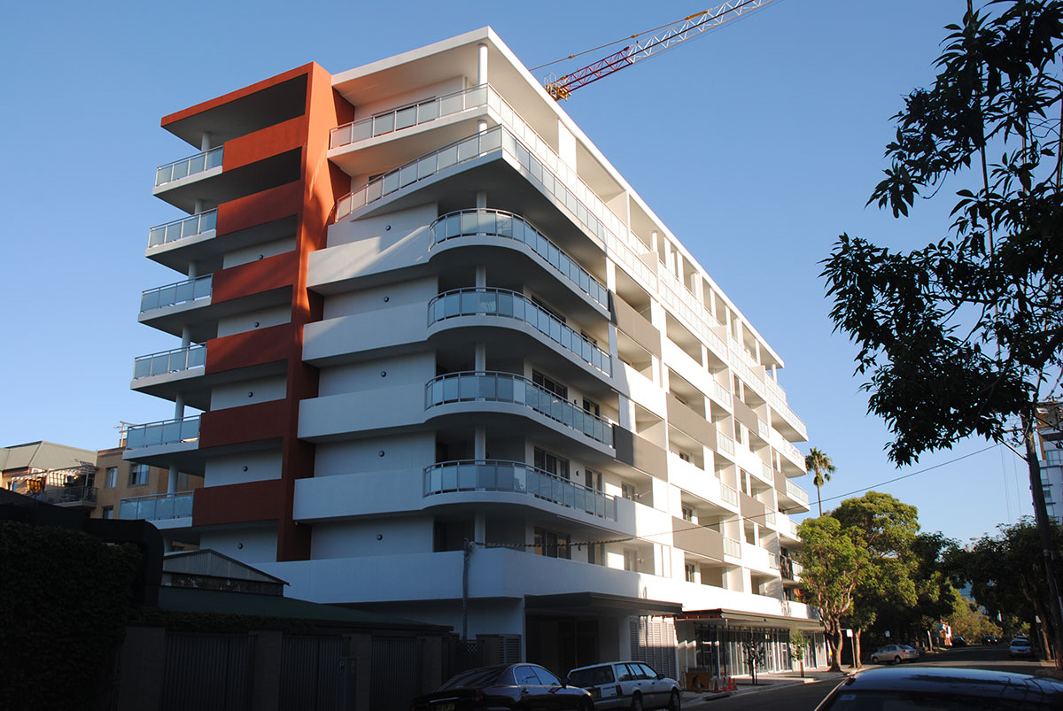 Balcony Glass For Apartment In Sydney