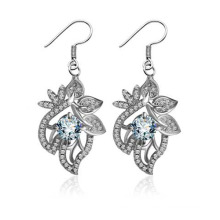 Ms. Classic Fashion Earrings Silver Wedding Wedding Party