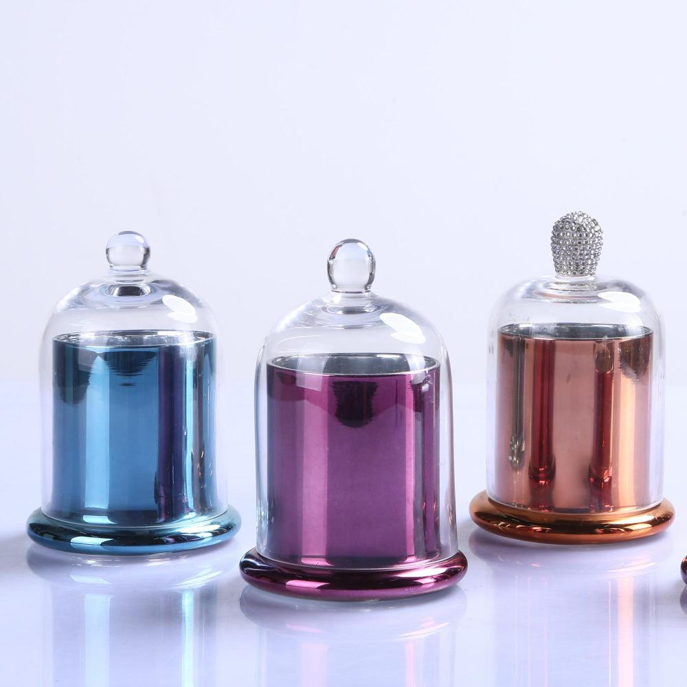 Hand Made Luxury Glass Candle Jar Wholesale