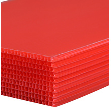 Corrugated Plastic Bottle Layer Pads