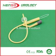 Catéter Foley de látex pediátrico de dos vías (2 vías)