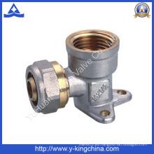 Brasscompression que fija para la pipa de Pex (YD-6060)