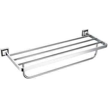 Modern bathroom accessories brass towel rack