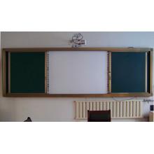 Vaious Sliding Whiteboard Chalkboard Green Board für den Schulunterricht