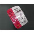 Componentes Blister Embalagem com Cartão de Papel (HL-144)