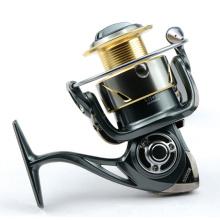 Buen diseño carrete de pesca de carrete de pesca de spinning de aluminio