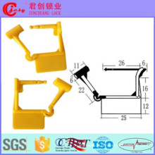 Selo de cadeado de plástico para caixa de medidor