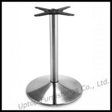 Base de table ronde en acier inoxydable brossé (SP-STL016)