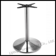 Brushed Stainless Steel Round Dining Table Base (SP-STL016)