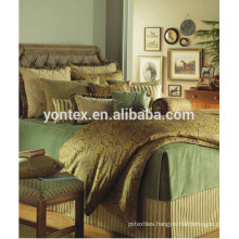 100% cotton luxury printed bed set