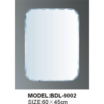 4mm espesor de aluminio o espejo de baño de cristal de cristal (BDL-9002)